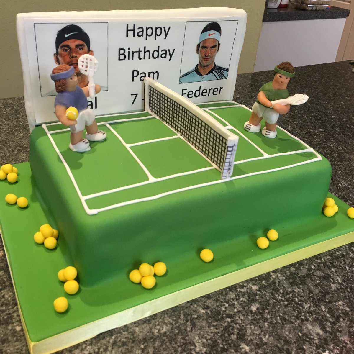 Limelight Cakes On Twitter Coffee And Walnut Tennis Cake