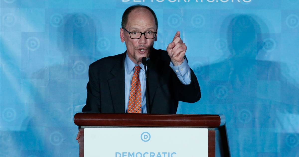 Shake-up at Democratic National Committee, longtime officials ousted https://t.co/wJV1vIJajP