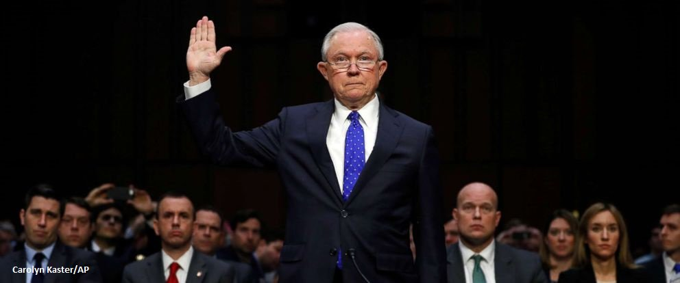 AG Sessions tells Senate Judiciary Committee he has not been interviewed by special counsel Mueller in Russia probe. https://t.co/t1JOZDpF1R