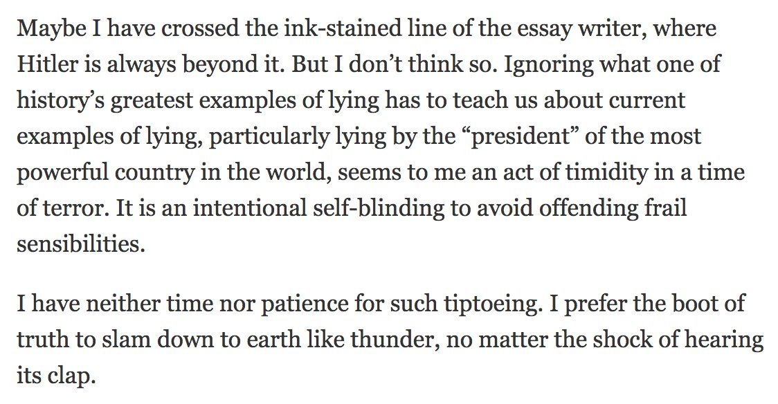 Putting aside the flaws in Charles Blow's argument, this is just terrible writing.