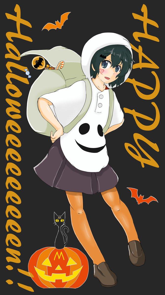 かばんちゃんは優しいからフレンズのみんなにお菓子を配って回るのだ( *´艸`) けものフレンズ #かばんちゃん ハロウィン  pic.twitter.com/JqdC2KxgyT