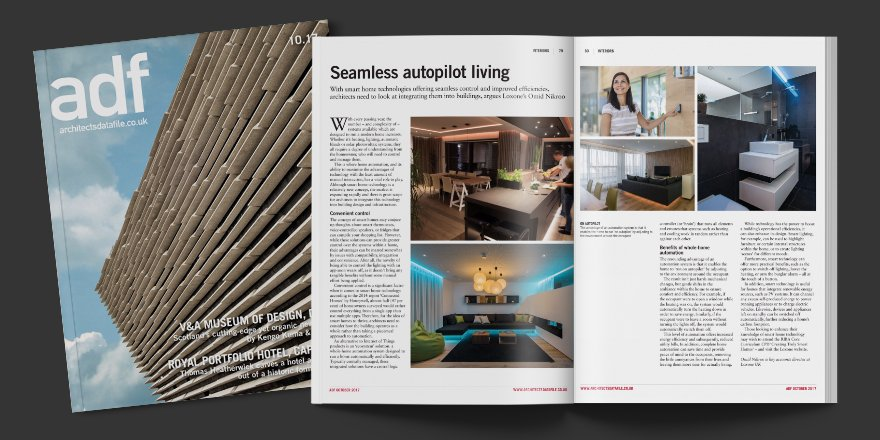 The October issue of @ArchitectsDF features some great #smarthome advice from #Loxone&#39;s @ominik23. Check it out:  http:// bit.ly/2gntern  &nbsp;  <br>http://pic.twitter.com/W6edw0pdiw