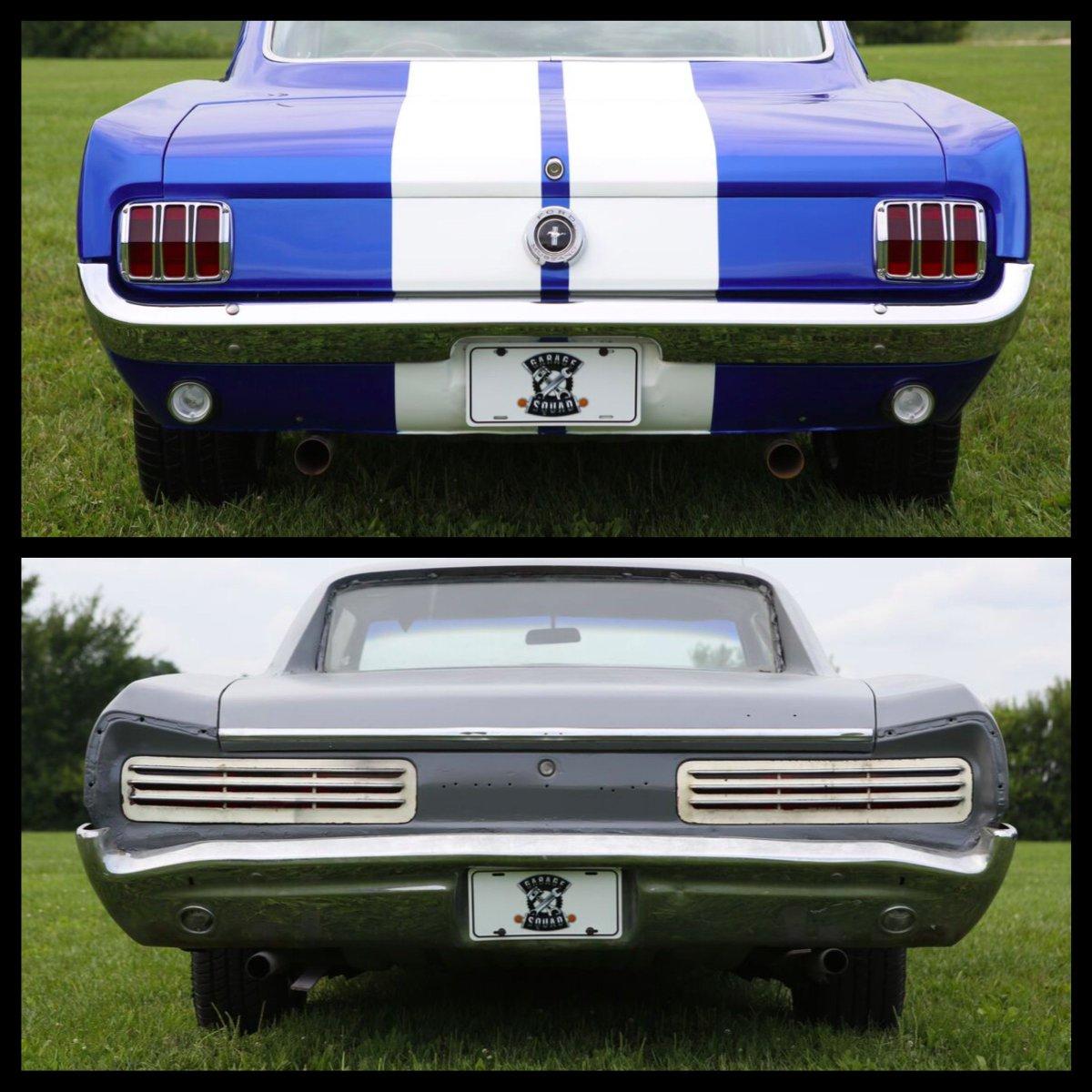 1965 mustang fastback 1966 gto