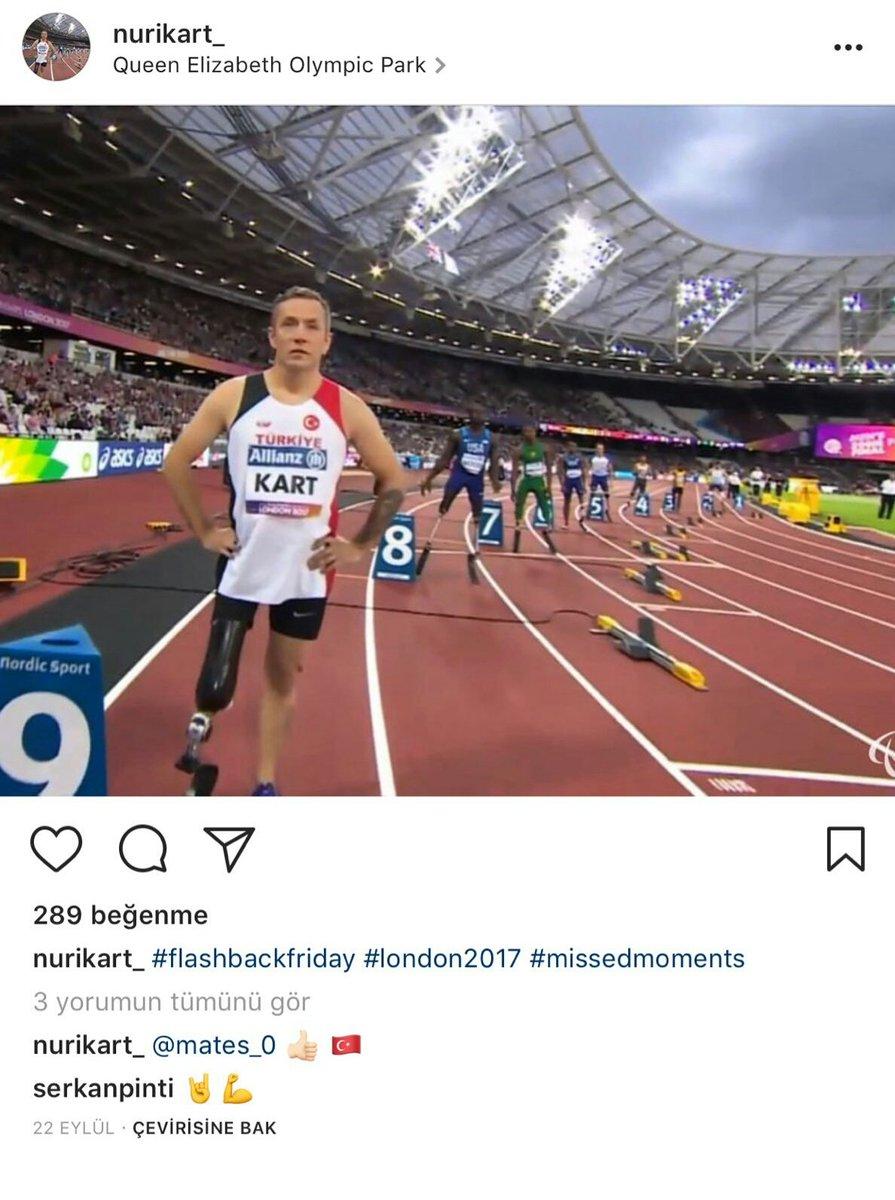 Milli Sporcumuz Nuri Kart\'a sponsor ve eklem desteği bulabilmek için yayalım lütfen.