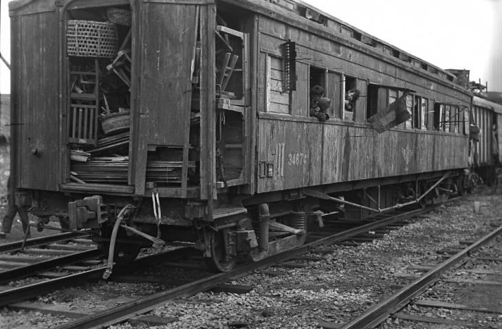 """はいらーある در توییتر """"1949年南京で撮影。元鉄道省のナロ20700型 ..."""