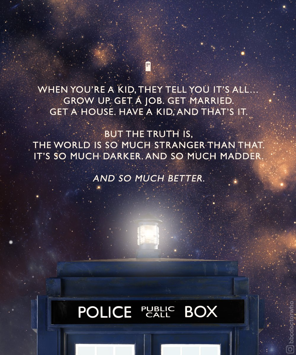 🌌 #ThursdayThoughts #DoctorWho https://t...