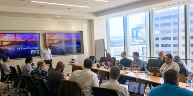 Taking the hybrid #cloud to the software-defined edge, @Riverbed showed how the edge need not be complex at #TFD15  http:// rvbd.ly/2l2G9Em  &nbsp;  <br>http://pic.twitter.com/QG6SCB1a13