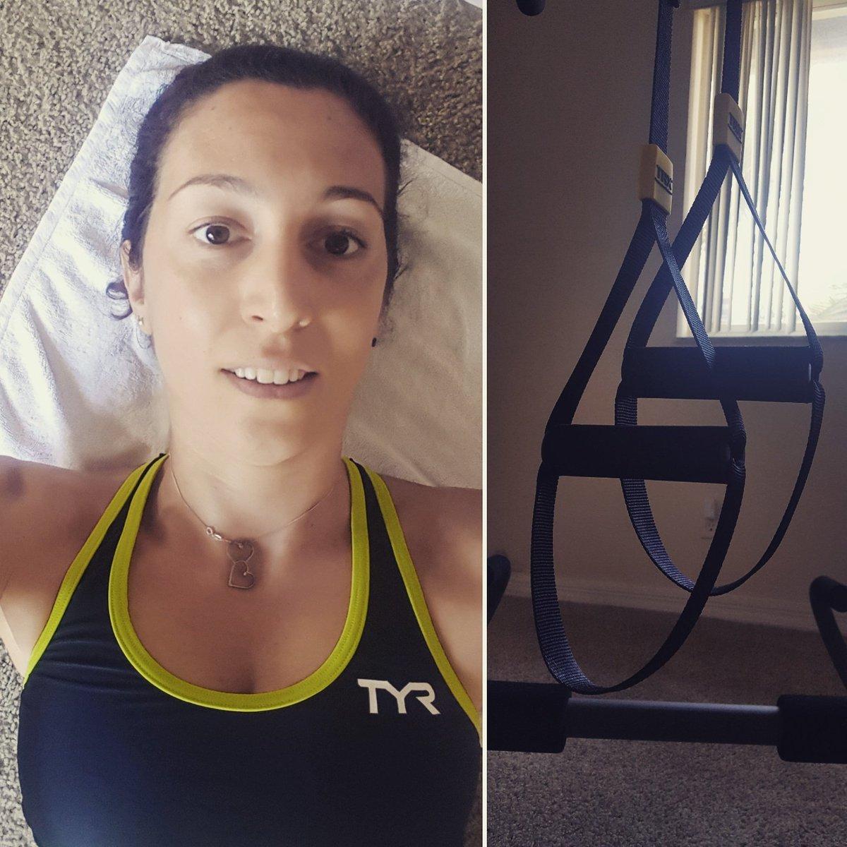 Morning training! #trxworkout #trx #thursday #workout #coreworkout #core #abs #tired #timetowork #morning #morningmotivation #livetothrive<br>http://pic.twitter.com/85m2Xv3v4F