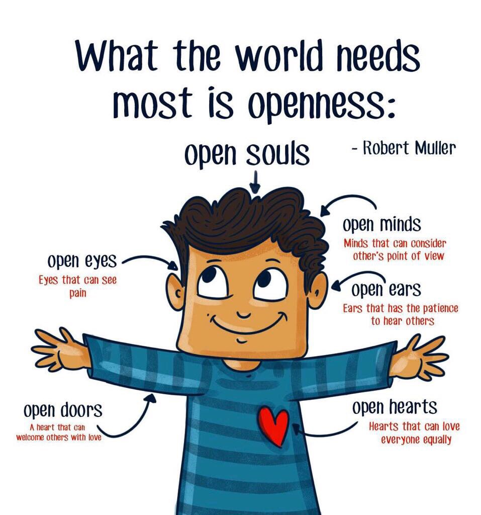 World needs #openness <br>http://pic.twitter.com/xigvkL23jP