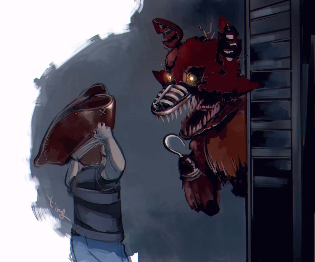 Let's hang out,Foxy! \
