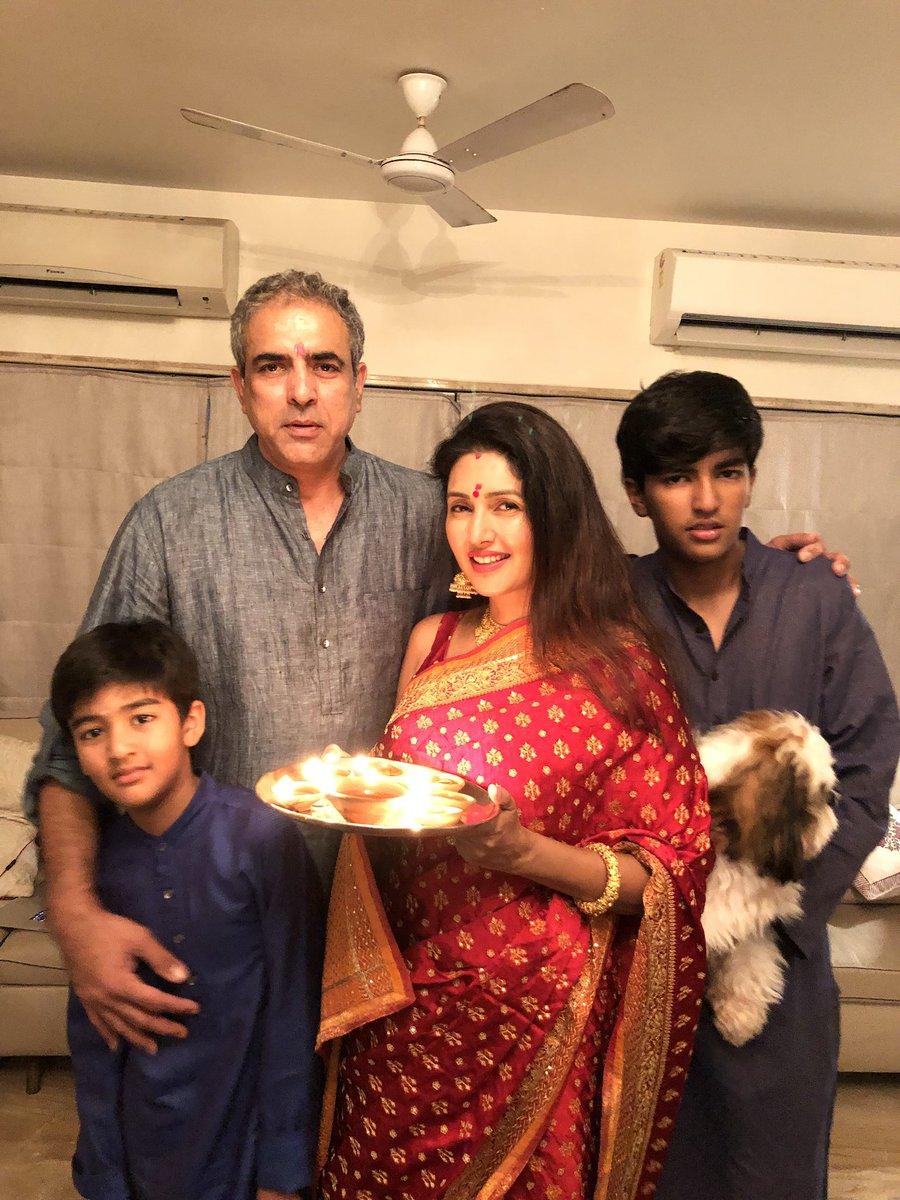 "Deepti bhatnagar on Twitter: ""My beautiful Diwali celebration..wishing u all happiness love and light… """