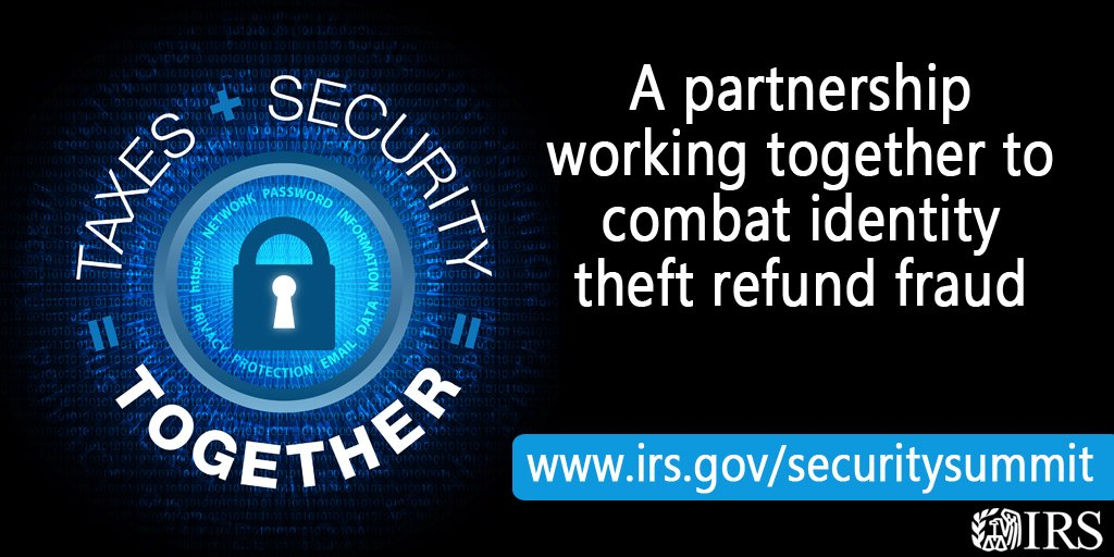 Irs On Twitter Securitysummit New Verification Code Box On Irs