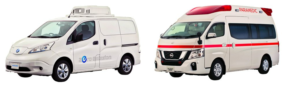 NISSAN TO UNVEIL NEW AMBULANCE AND ELECTRIC DELIVERY VEHICLE #Nissan #Ambulance #ELECTRICDELIVERYVEHICLE https://goo.gl/3wgHjSpic.twitter.com/fUaVlIAlzz