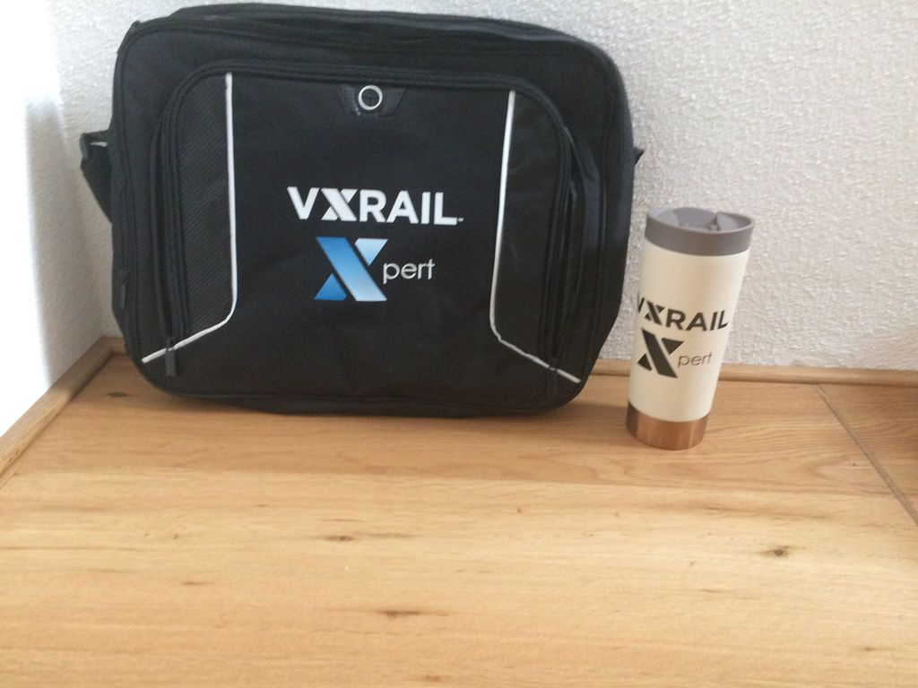 awesome! just received my VxRail Xpert swag. thx a lot! go HCI @VXchad @sakacc #vSAN #HCI <br>http://pic.twitter.com/24A8JqYFIY