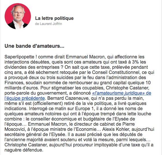 Imparable. #Macron #Castaner #Cazeneuve <br>http://pic.twitter.com/2cNaUMJqTK