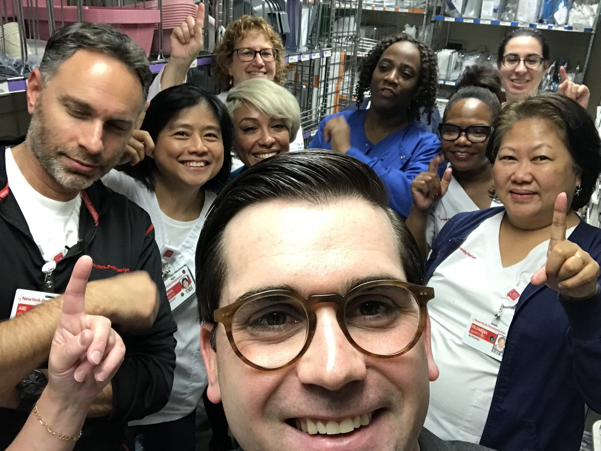 Touring the improved @RNOncologySquad Clean Supply room with some of our team. Open house all week come by any time. #6HNCleanSupply #TeamColumbiaRocks #5S #Lean @Lindsay_NYP @ltbaustria @HeadRNColumbia @LeanDotOrg<br>http://pic.twitter.com/Ptbzh2HBt5 &ndash; à New York-Presbyterian/Columbia University Medical Center