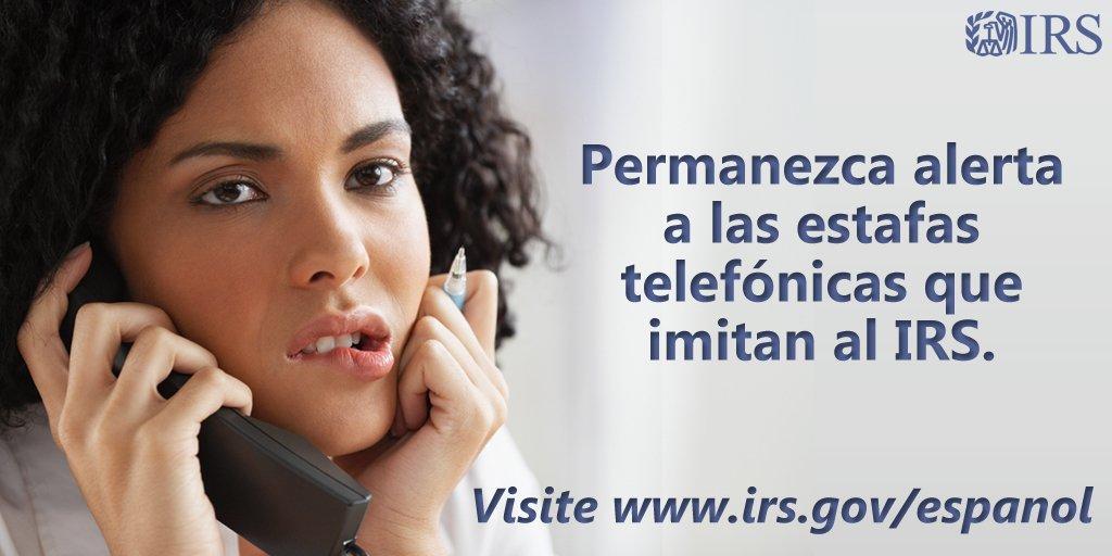 Cómo verificar si es realmente el #IRS q...