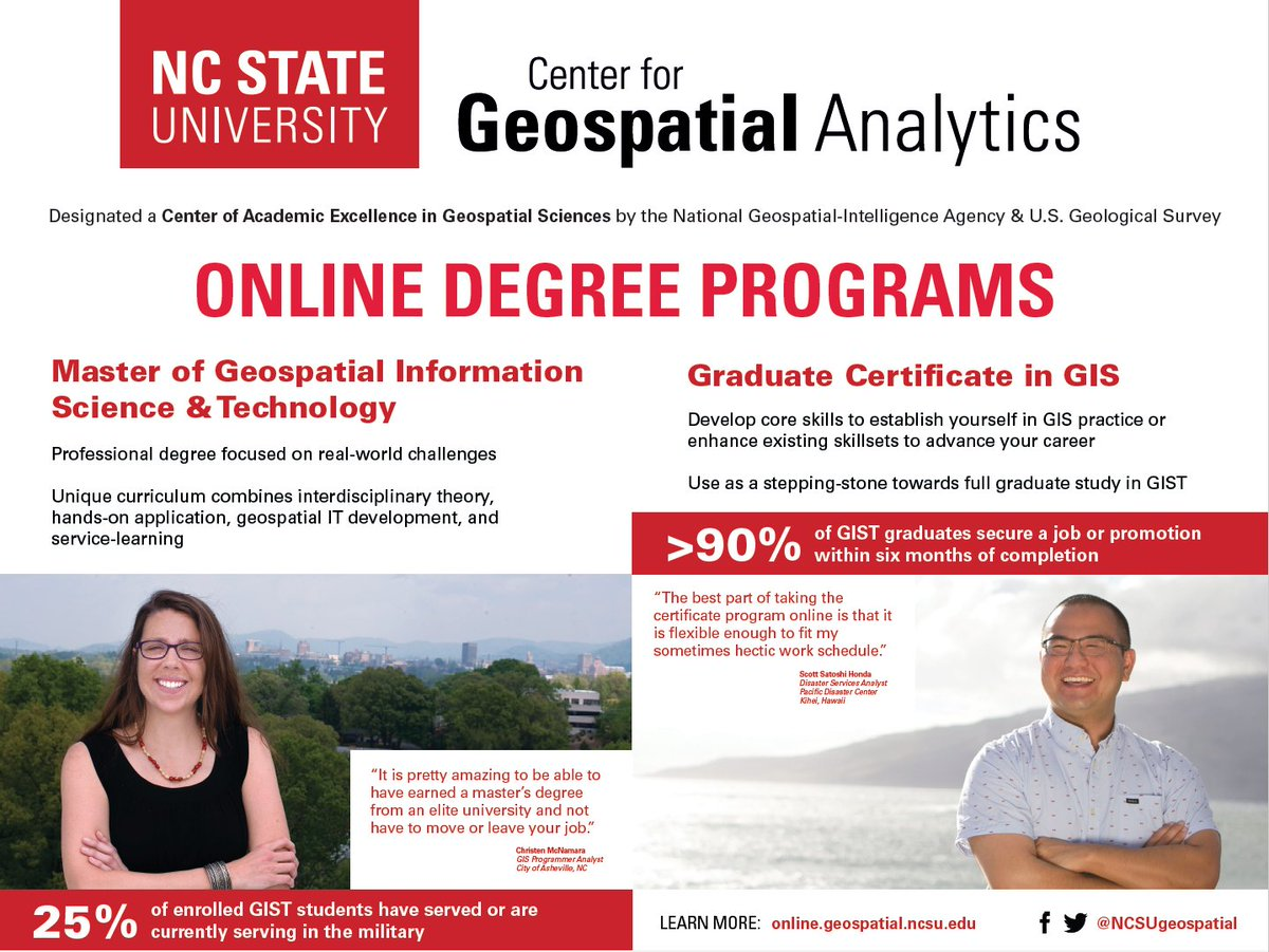Nc State Geospatial On Twitter Also Next Week Check Out Our Booth