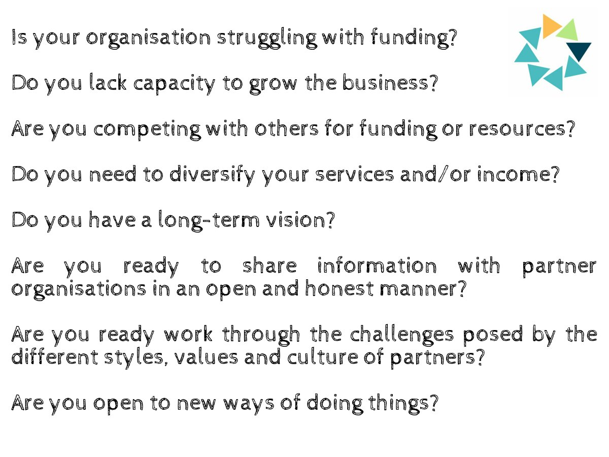 Are you ready to collaborate?  Ask yourself these questions! #collaboration #partnership #consortia #procurement #socent #thirdsector<br>http://pic.twitter.com/cqOBw84hcn