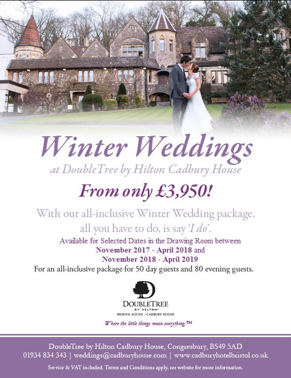 Cadbury House On Twitter Our Winter Wedding Package Is Now