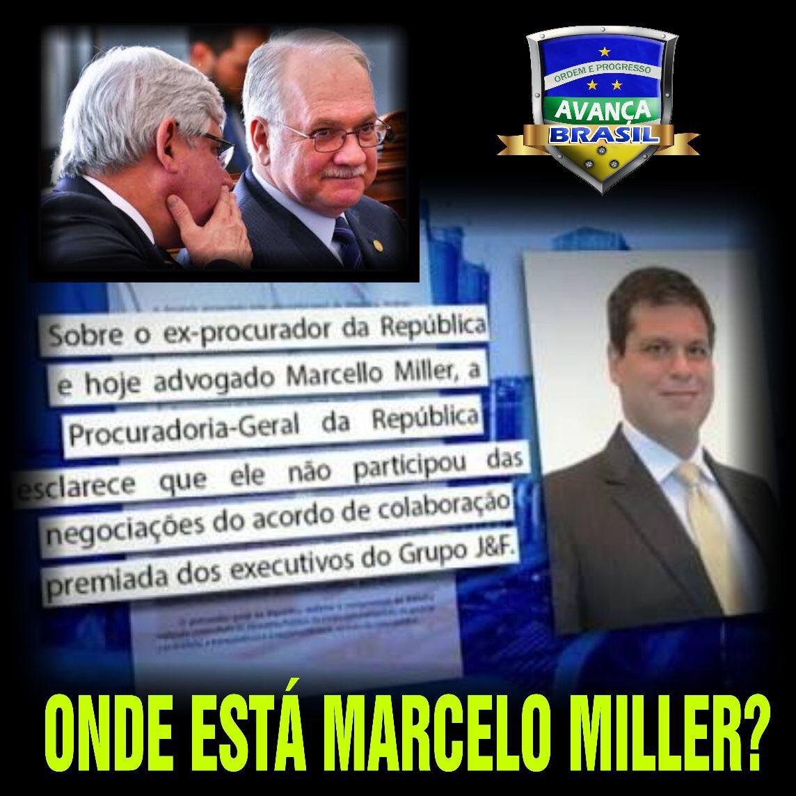 """Onde está Marcelo Miller? Parte do """"Teatro"""" de Janot O Vermelho?  E aonde estão tantos outros protegidos pelo STF que nunca os julgam?"""