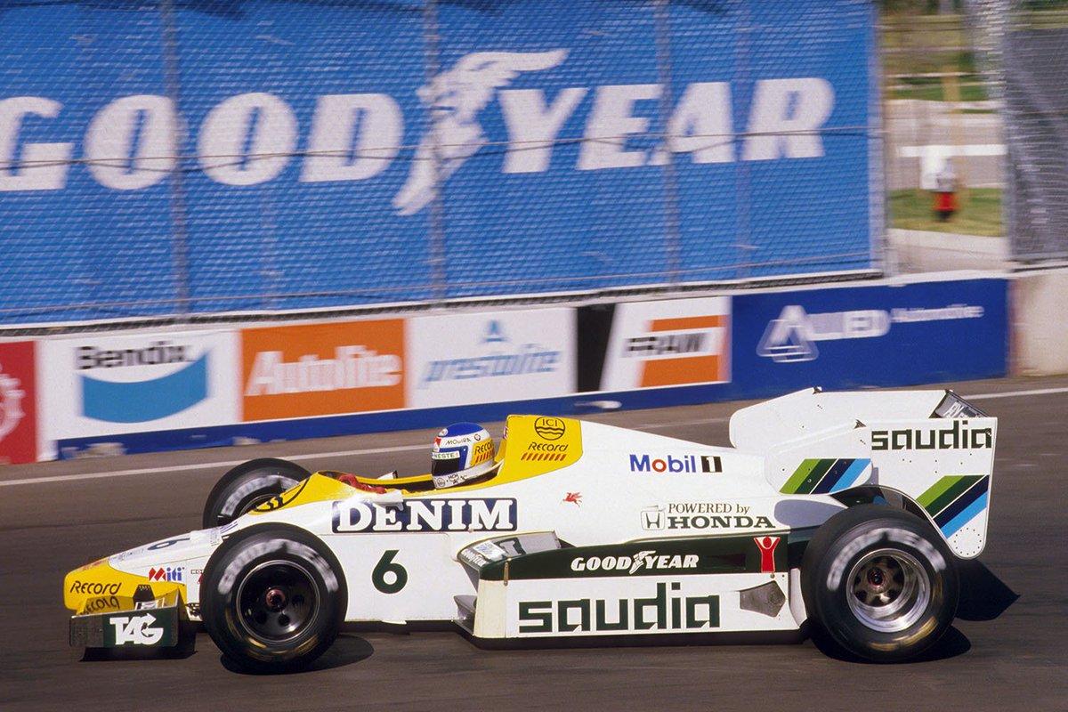 #HondaHistory: Keke Rosberg wins the 1984 #Dallas Grand Prix, giving #Honda its first @F1 victory in the turbocharged era. #TBT<br>http://pic.twitter.com/0BU6vDK6Zo