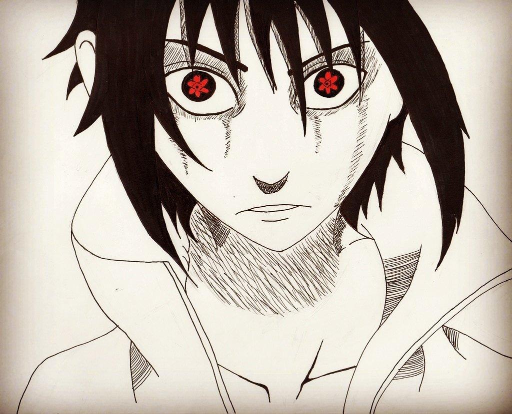 Jared Ansel On Twitter Sasuke Uchiha Inktober Day 019