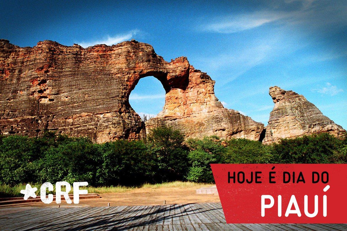 Parabéns ao Estado do Piauí pelo dia de hoje e a todos os Rubro-Negros que representam nossa Nação nesta terra linda!