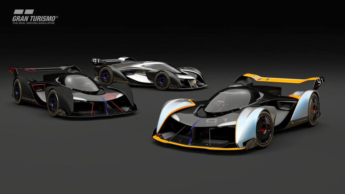 Played GT Sport yet? Take the incredible #McLaren Ultimate Vision GT for a drive exclusively on PS4 <br>http://pic.twitter.com/Sfut12Q2kb