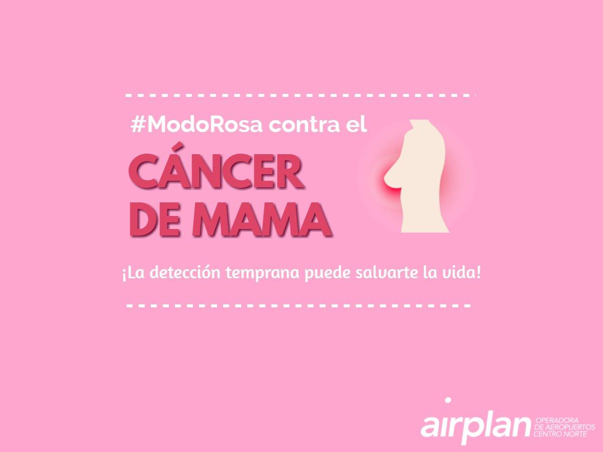 Nuestro Aeropuerto también está en #ModoRosa. 🌸💟 ¿Ya te hiciste el aut...
