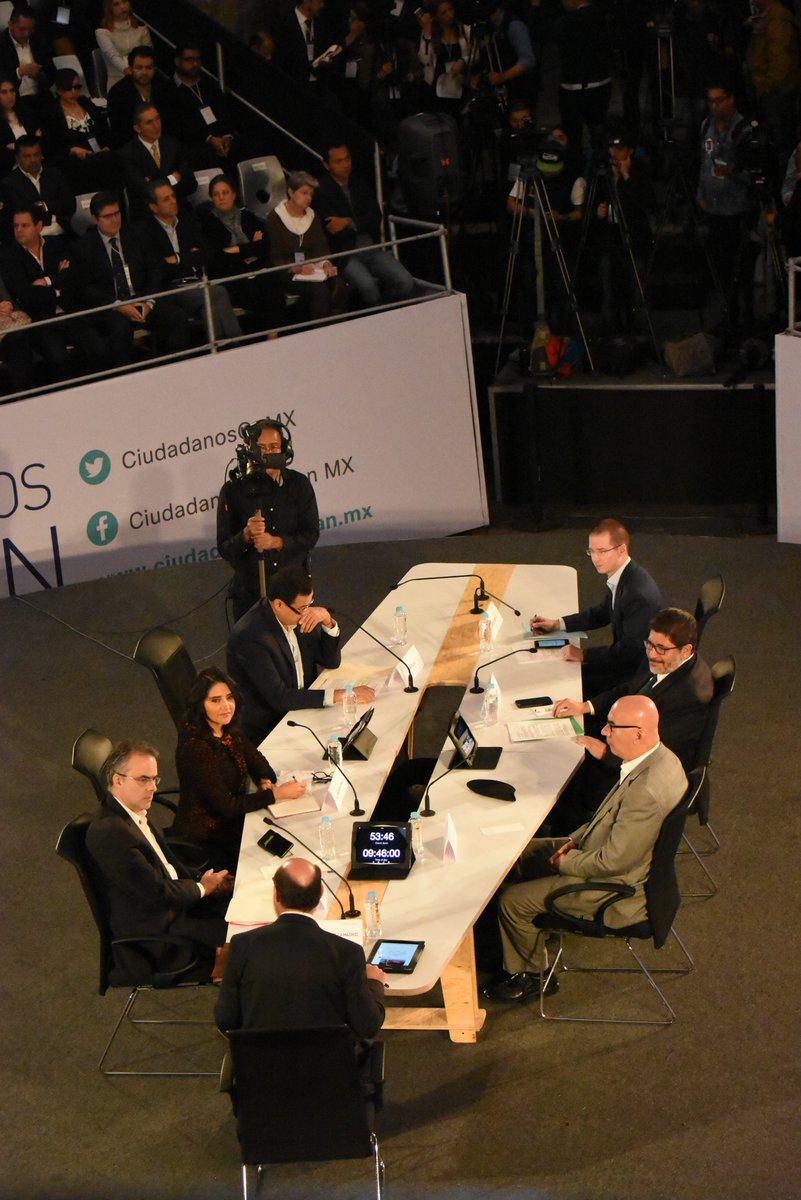 Terminó la 1era. Mesa de #CiudadanosOpinanMx https://t.co/pCS2ADVBd1