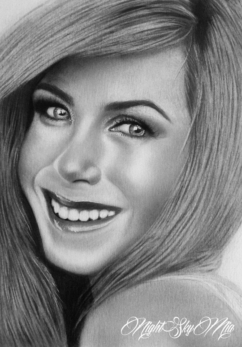 &quot;There are no regrets in life, just lessons.&quot; #JenniferAniston #drawing #PencilDrawing #ArtStream<br>http://pic.twitter.com/gtZgajTgWn