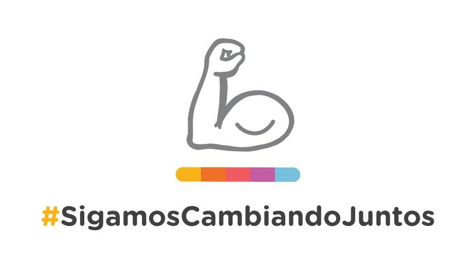 #SigamosCambiandoJuntos https://t.co/NJC1K6eRXN