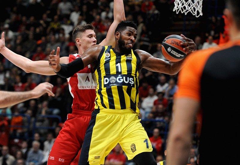 EA7 Olimpia Milano 86 - 92 Fenerbahçe Doğuş  Tebrikler Fenerbahçe!  #N...