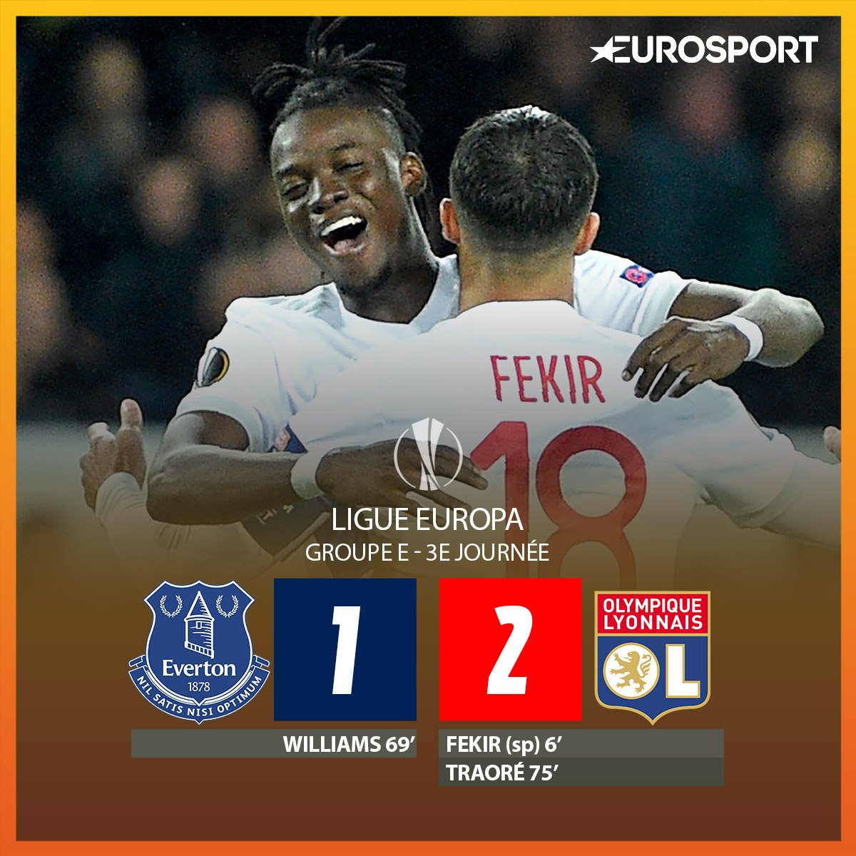 C'EST FAIT ! Lyon s'impose à Goodinson Park dans un match au final éle...