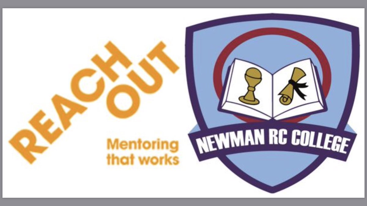 Our Year 8 pupils enjoyed starting their journey with @ReachOutUK today @NewmanRCCollege #mentoringthatworks #aspirational #inspirational <br>http://pic.twitter.com/G6VScYH5ZI