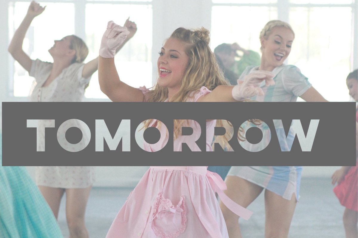 """We will be """"Dancing in the Moonlight"""" tomorrow!!!! @GraceVanderWaal Dance Video comes out tomorrow! #dance #Choreographer #gracevanderwaal<br>http://pic.twitter.com/G5iGIhj02m"""
