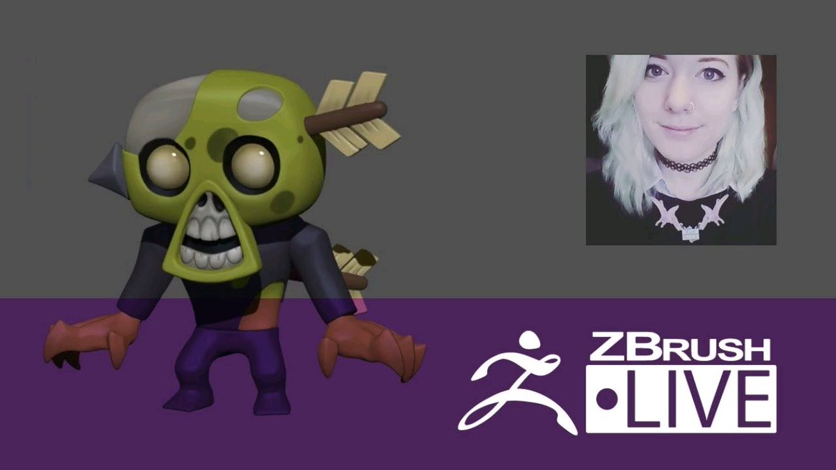Watch &quot;Shayleen Hulbert - Character Creation for Games - Episode 24&quot; on YouTube  https:// buff.ly/2xLuOJy  &nbsp;   #zbrush <br>http://pic.twitter.com/7sIBbfmx7Q