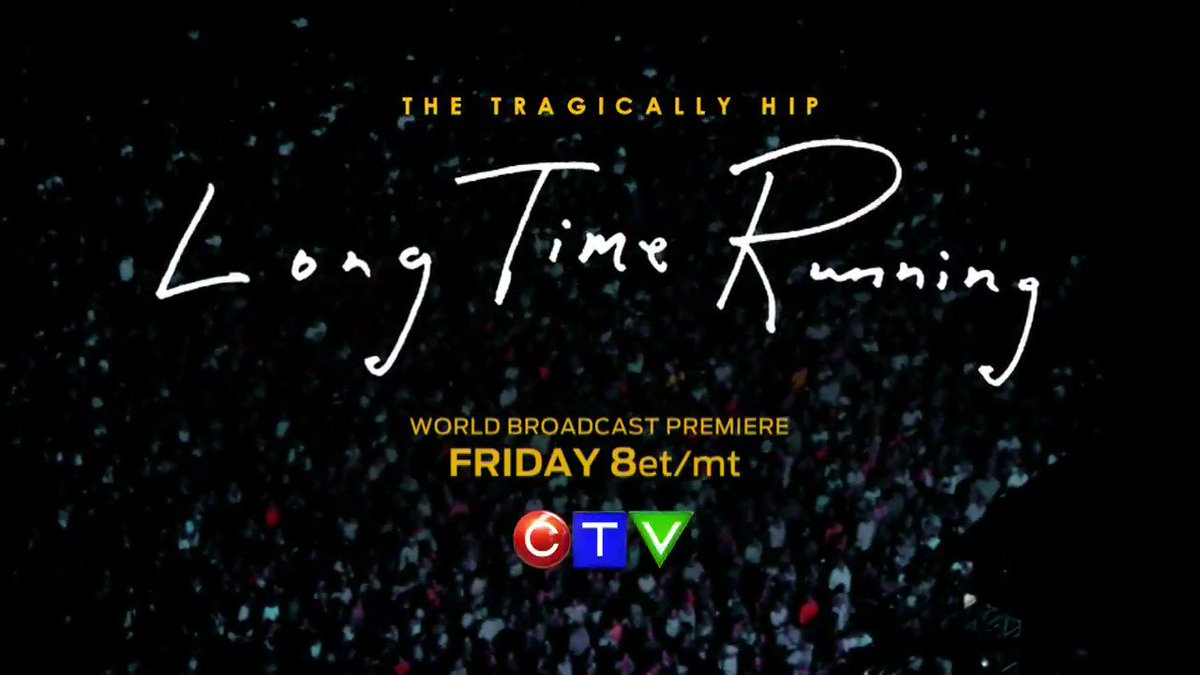 In celebration of Gord Downie's life, CTV presents #LongTimeRunning Fr...