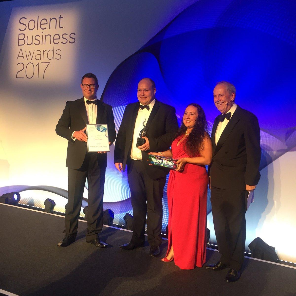 Congratulations @NetPayGroup! for winning The Best Use of Technology  Award! #SolentBA #Winners <br>http://pic.twitter.com/3m2uG1RLu4