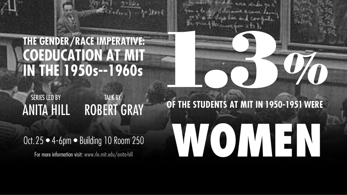 Next wed. The #Gender #Race Imperative with #AnitaHill continues  http://www. rle.mit.edu/anita-hill/  &nbsp;   #metoo #womeninSTEM @MIT @MITevents @MITWGS<br>http://pic.twitter.com/aWJ5zFH1IS