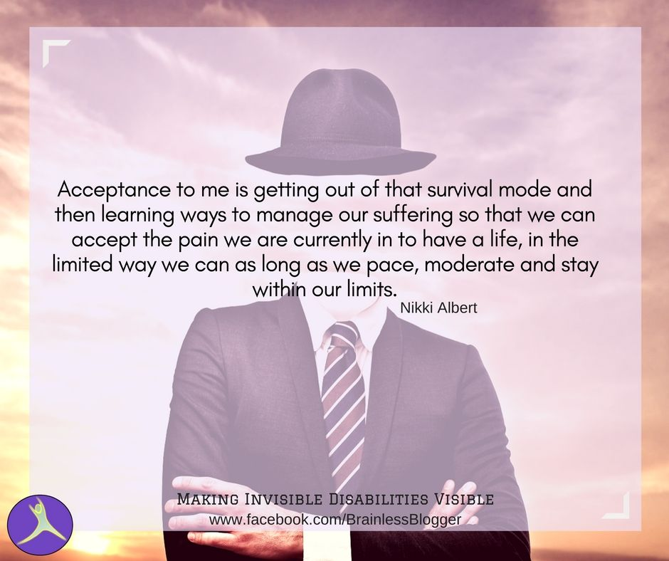 """""""hard to hv #acceptance w/o any actual #painmanagement"""":  https:// buff.ly/2xQfUSD  &nbsp;   (by @Nikki_Albert) #chronicpain #spoonieproblems #spoonie<br>http://pic.twitter.com/V5epleMhjd"""