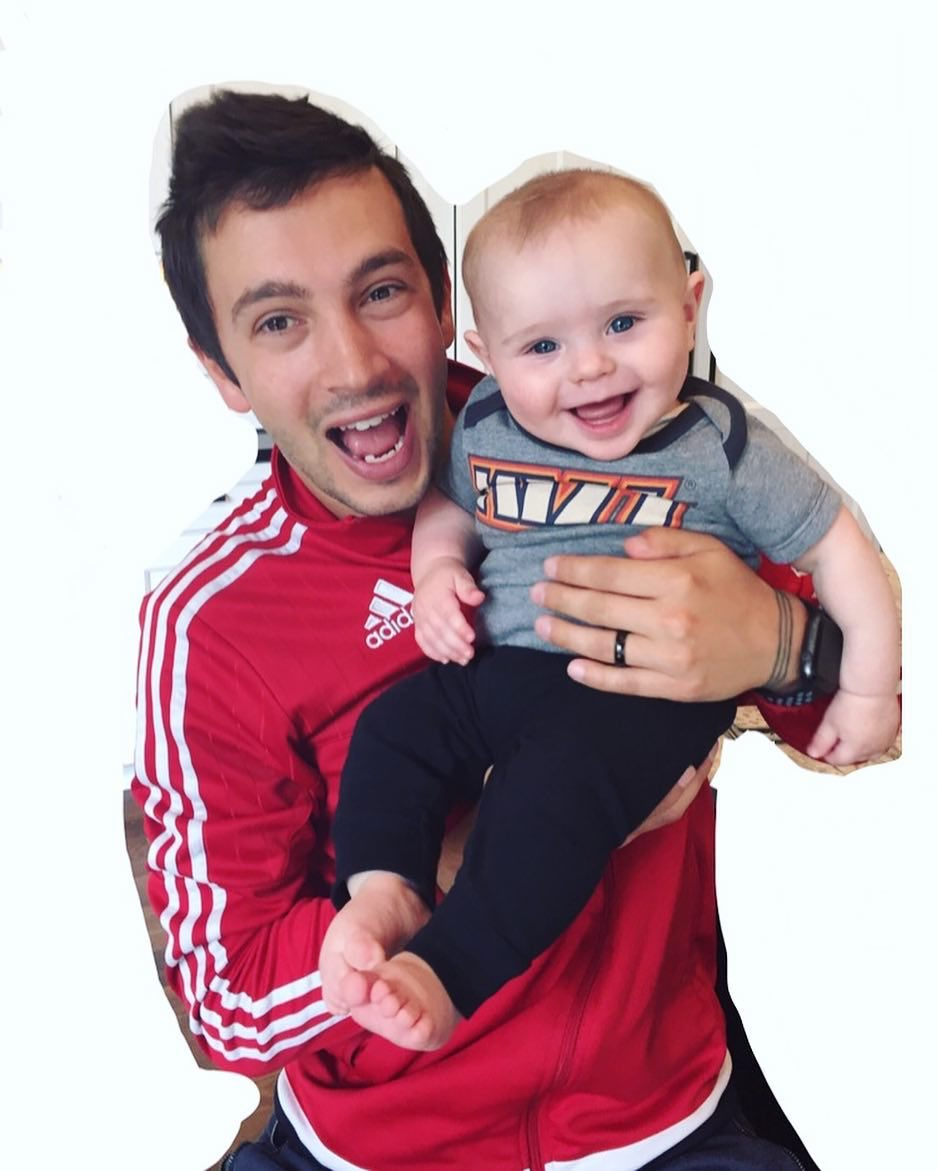 #ThrowbackThursday Tyler with his baby cousin Bo earlier in the year <br>http://pic.twitter.com/yohZyPiHAd