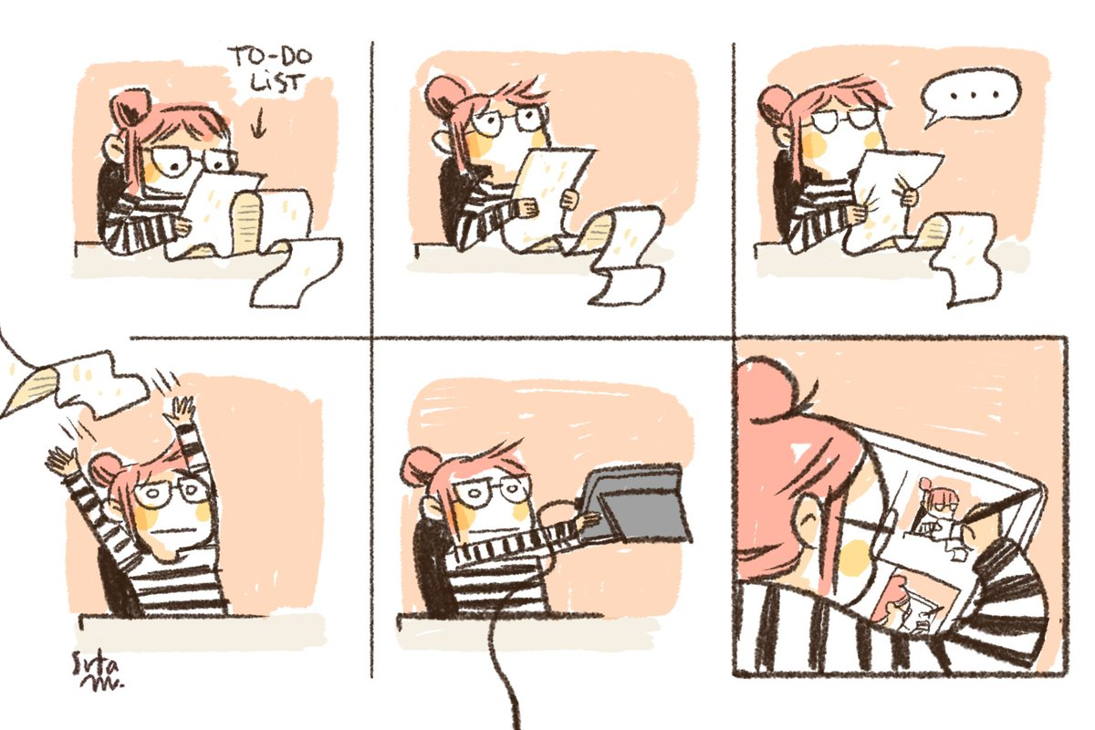 &#39;I should be doing something useful right now&#39; or &#39;Me and my to-do list: A love-hate story&#39; #help <br>http://pic.twitter.com/rfdSCcHaKA
