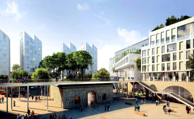 A villejuif le projet campushorizon port par legendre for Agence j paysagiste
