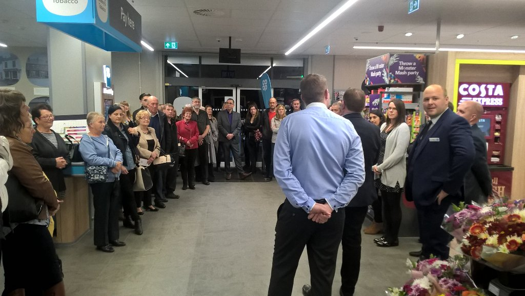 Customers excited ahead of our first EC+ Trial Store in Horbury. #VIP Evening#Horbury Launch <br>http://pic.twitter.com/BrecZx7MmR
