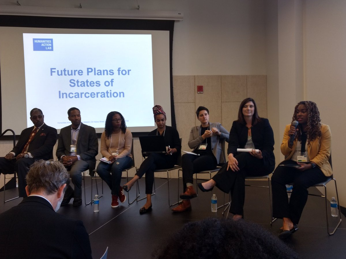 Great panel discussion @humanities_lab &quot;Future Plans for States of Incarceration&quot;. #CJ Reform #TheYillage<br>http://pic.twitter.com/0KwfUAhMnJ
