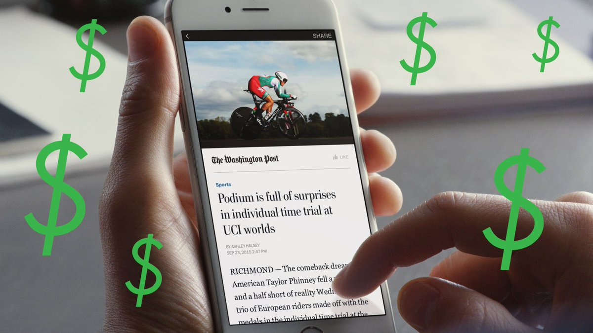 Facebook is now testing paywalls and subscriptions for Instant Articles  http:// dlvr.it/PwYpYt  &nbsp;   #Social #TC #Facebook #paywall <br>http://pic.twitter.com/2kuzOXb3Wg