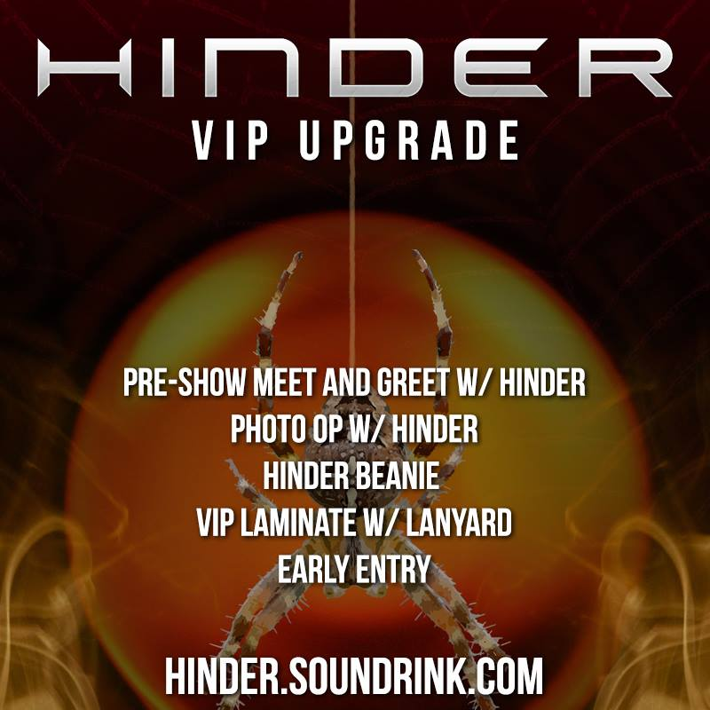 Get your @hindermusic #VIP upgrades now for their current tour!  http:// yaletownfm.com/vip-upgrades-j ust-offered-for-hinders-tour-dates/ &nbsp; … <br>http://pic.twitter.com/hiEIBthdWb