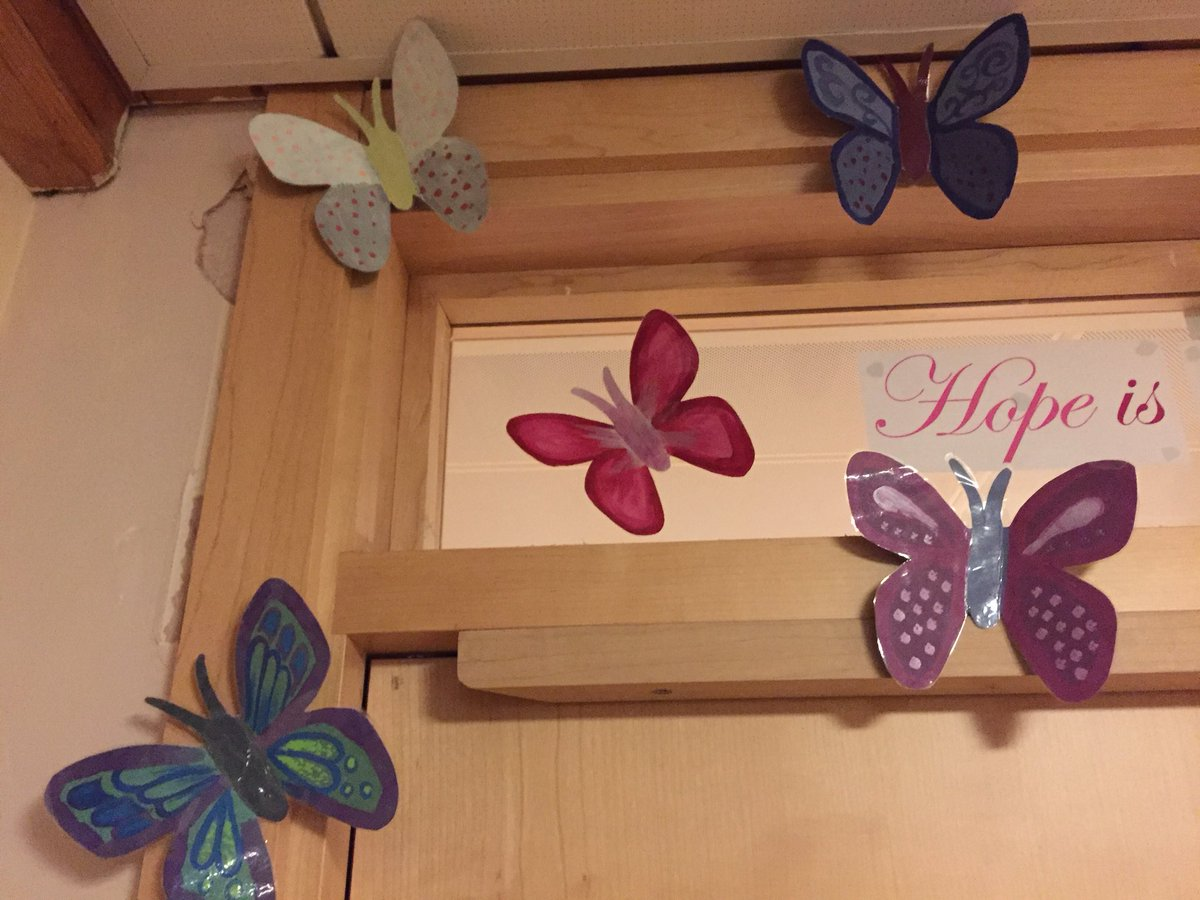 Some beautiful art work from our ladies &amp; some 'fluttering' Butterflies  #patientinvolvement #BridfordWard @livewellsw @GlenbourneUnit<br>http://pic.twitter.com/jJ2MgILrBl
